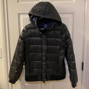 American Eagle Outfitters hooded puffer jacket